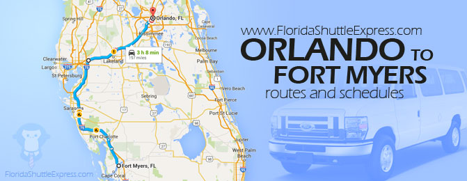 Shuttle service Orlando to Fort Myers