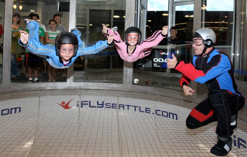 Now Open! Making the dream of flight a reality at iFLY Tampa. Ages 3 to can feel the rush of flying in a fun, safe indoor skydiving facility.