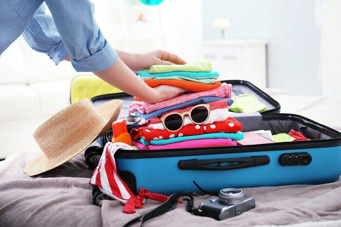 packing your bag for traveling